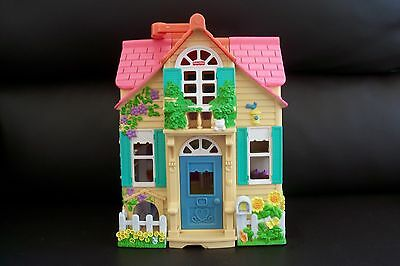 Fisher Price Loving Family Sweet Streets Country Cottage Doll House & Furniture