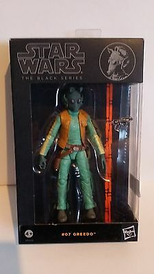 Star Wars The Black Series #07 Greedo 6 Inch Figure WAVE 2