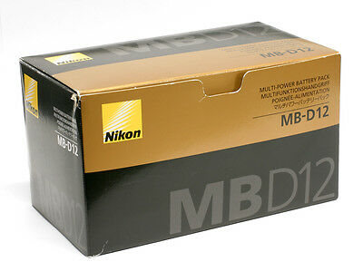 Nikon MB-D12 MBD12 Multipower Multi-Power Battery Pack Hand Grip