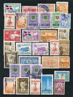 Republica Dominicana, lot of stamps, used