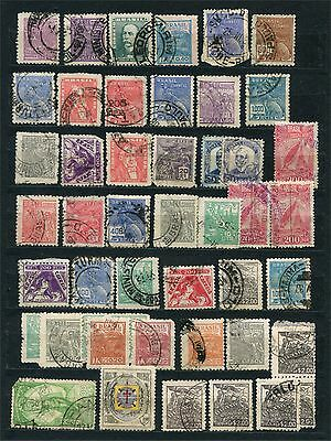 Brasil, lot of stamps, used