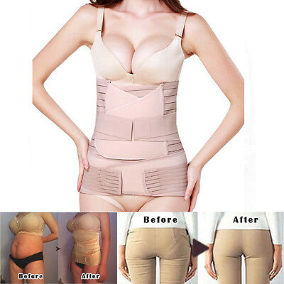 Postpartum Support Recovery Belly Waist Pelvis Maternity Belt 3 in 1 Shaper IA