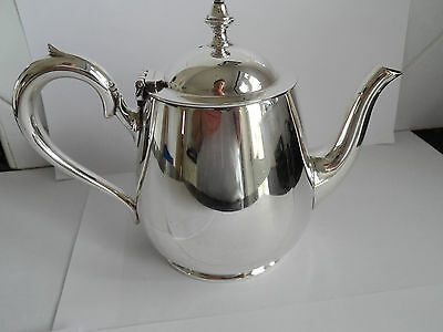Vintage Heavy Silver Plate Smaller Size Teapot Elkington Gleaming - 2 / 3 Cups