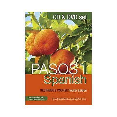 Pasos 1: Spanish Beginner's Course: CD and DVD Set by Martyn Ellis, Rosa...