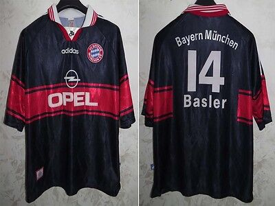 Maglia Shirt Jersey Calcio Football Bayern Munchen Munich Basler Size Xl Away