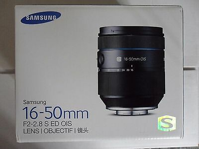 Samsung 16-50mm F2-2.8 S ED OIS Camera Zoom Lens Black EX-S1650ASB New