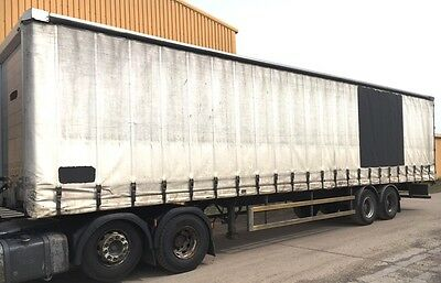 45ft CURTAIN SIDED TRAILER -  12 MONTHS TEST