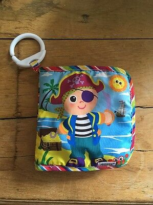 Lamaze Baby Toy Soft Pirate Book- Pram Toy