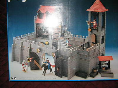 Playmobil Retired Large Castle Set And Accessories
