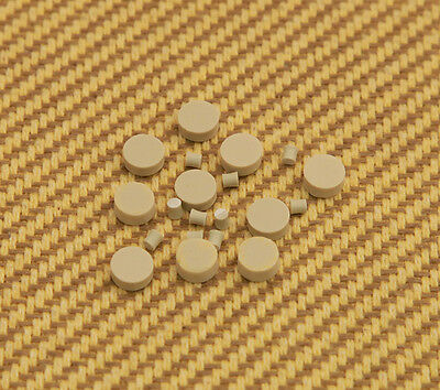 "LT-0484-000 Vintage Guitar Clone Clay 1/4"" Inlay Dots and Side Dots"