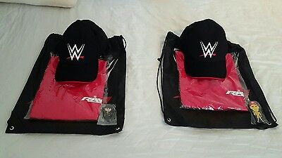 WWE Goodie Bag with T-Shirt, Hat/Cap and USB Stick