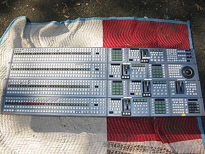 Sony Ccp-8000 & Aux Control Panel Only For Mvs-8000 Hd / Sdi Video Switcher