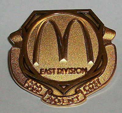 East Division Food Cost Agent Collectible McDonald's Employee Crew Pin