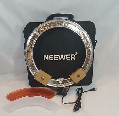 """Neewer Camera Photo Video 18"""" 48 Cm Outer 55W 240 Pieces LED Ring Light. NO BULB"""