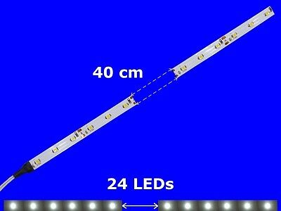 S897 - 5 pcs LED Carriage Lighting 400mm White Analogue + Digital with Cable