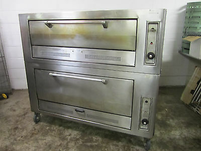 Vulcan Double Stone Deck Oven Natural Gas Baking  Pizza Ovens Tested