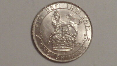 1922 Shilling.George V.1911-1936. nUNC.Lustrous.Well Struck. British Milled.S'ce