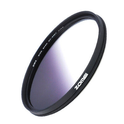 Gray 40.5/49/52/55/58/62/67/72/77/82mm Slim Graduated Color Camera Filter