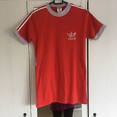 Vintage Red Adidas Originals Top - 60s 70s