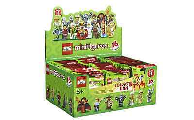 RARE LEGO Minifigures Series 13 71008 BRAND NEW SEALED BOX 60 Packs