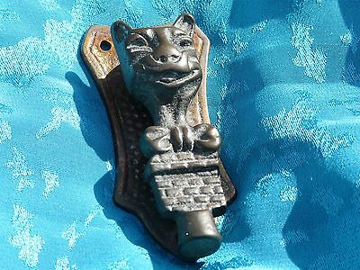 Lovely vintage cat door knocker