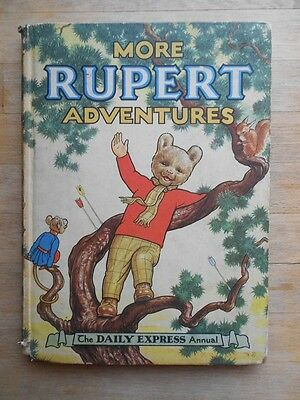 Rupert The Bear annual 1952 unclipped, no name, good condition