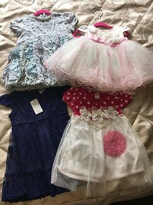 Baby Girl Bundle 6-9 Months Mixed Dresses Oilily