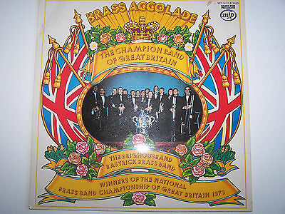 The Brighouse and Rastrick Brass Band, Brass Accolade. LP 1974