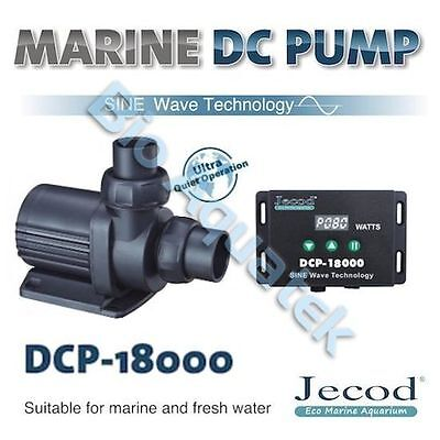Jecod Variable Flow DCP-18000 DC Aquarium Return Pump & Controller - NEW 2017