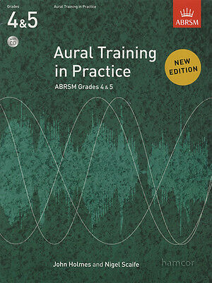Aural Training in Practice Grades 4&5 Music Book/CD ABRSM Practical Exams