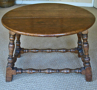 Reproduction Oak Occasional Table in Very Good Condition
