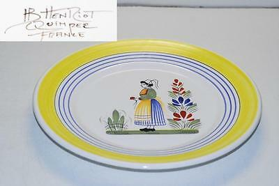 Quimper HENRIOT LADY Dinner Plate Plates 11 Inch