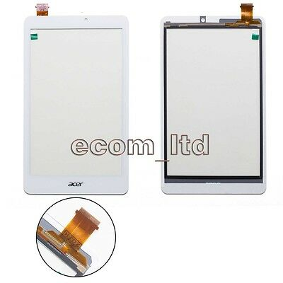 Acer Iconia Tab 8 W1-810 White Digitizer Touch Screen Lens Glass Pad Tablet
