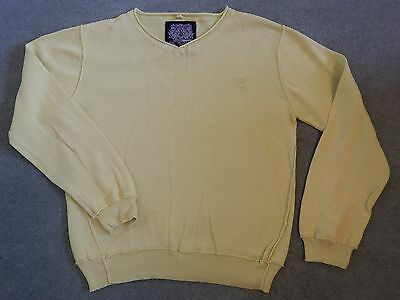 Next - lime green v neck jumper - aged 9 years
