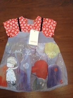 Catimini Designer Baby Girls Outfit - 6 months BNWT