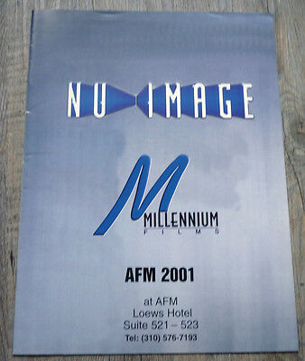 Nu Image / Millennium Films catalogue AFM 2001 (rare)
