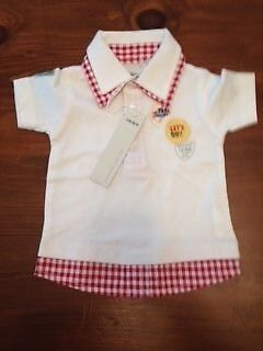 IKKS Designer Baby Boys Top -  3 Month BNWT