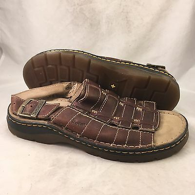 Dr Martens Buttseam Fisherman Brown Leather Sandal - Men's Size 10 - Great