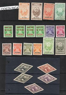Collection Of Costa Rica Revenues / Fiscals