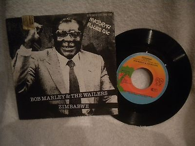 "7"" Bob Marley & The Wailers -- Zimbabwe / Survival"