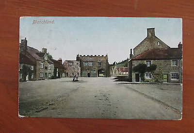 1904   Northumberland Postcard The warders Tower Blanchland 1904 newcastle