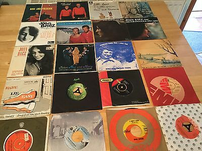 """For Sale 40 X 7"""" Singles & EPs Of Folk & Country Mainly From The 60's"""
