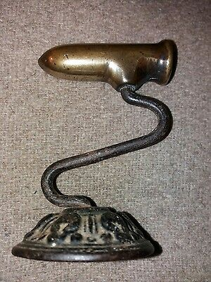 Antique Goffering Iron - Kenrick Brass And Wrought Iron.