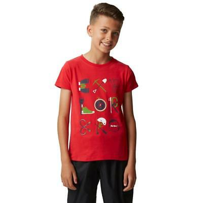Red Peter Storm Boys' Explorer T-Shirt Outdoor Clothing One Colour