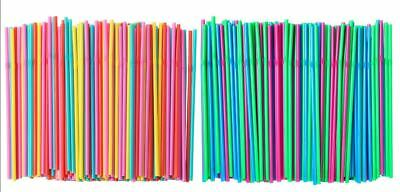 IKEA SODA Drinking Straw 200 pack multicolour