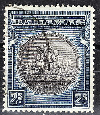 Bahamas 1931 2sh Seal of Bahamas No date Used Scott 90