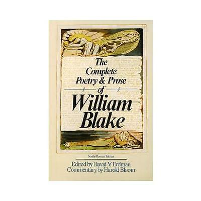 The Complete Poetry and Prose by William Blake (Paperback, 1988)