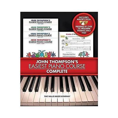John Thompson's Easiest Piano Course - Complete by John Thompson (Mixed media...