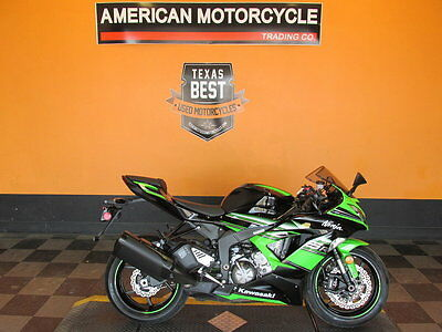 Kawasaki Ninja  2017 Kawasaki Ninja ZX-6R ABS SUPER CLEAN BIKE COME TAKE A LOOK