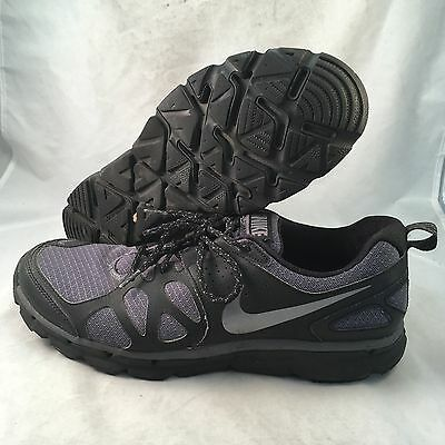 Nike Flex Trail - 538548-001 - Black Grey - Men's Size 12 - Great
